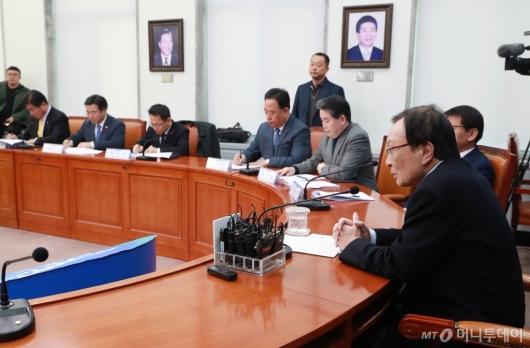 [사진]민주당 당대표-시·도당위원자 연석회의 개최