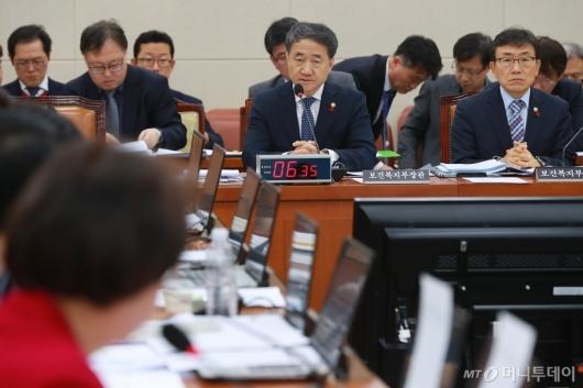 [사진]'국민연금 운영계획 현안 보고' 복지위 전체회의