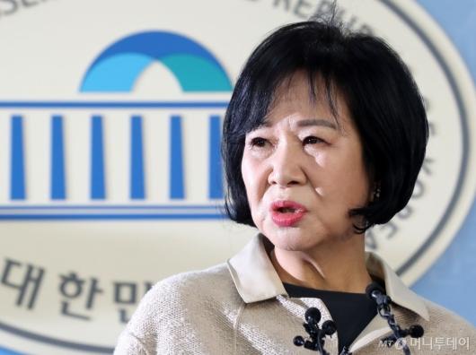 [사진]손혜원 의원, 그늘진 얼굴
