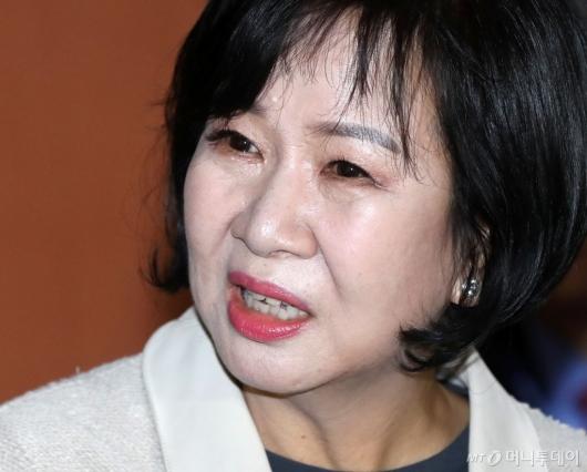 [사진]질문 받는 손혜원 의원