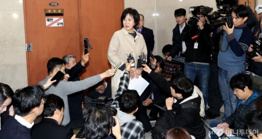 [사진]관심 집중된 손혜원 의원