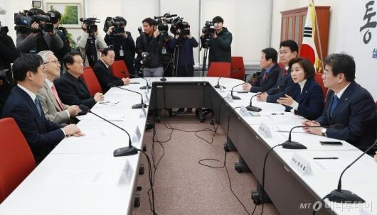[사진]자유한국당, 북미정상회담 대책회의 개최