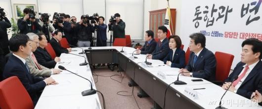 [사진]자한당, 2차 북미정상회담 대책회의 개최