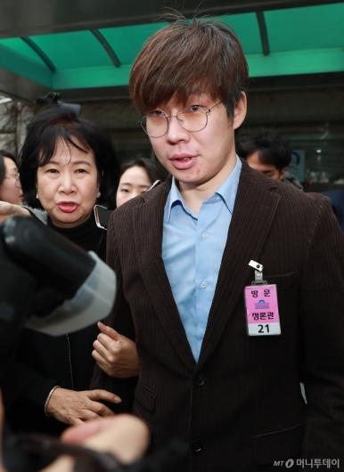 [사진]성폭력 피해자 추가 폭로한 여준형 젊은빙상인연대 대표