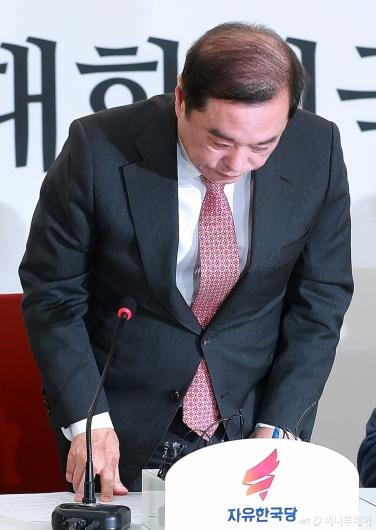 [사진]김병준, '5.18 망언 논란' 닷새만에 사과