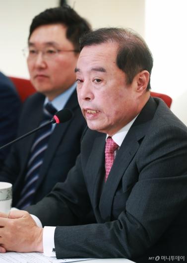 [사진]김병준, '나 포함 김진태·김순례·이종명 윤리위 제소할 것'