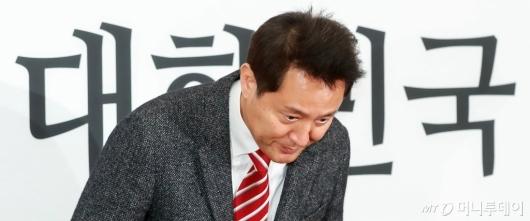 [사진]오세훈, 전당대회 보이콧 철회...'당대표 출마할 것'