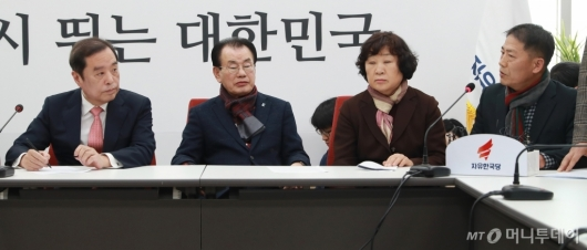[사진]5.18 단체 대표단, 자유한국당 방문