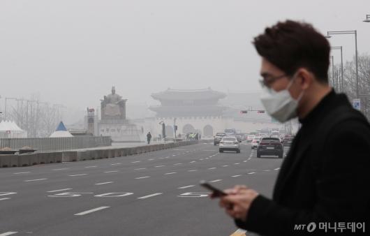 [사진]출근길부터 미세먼지 공습