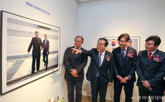 [사진]제55회 한국보도사진전 개막