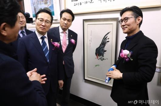 [사진]국회 문체위, 남북미술전 개최