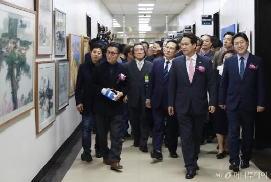 [사진]국회 남북미술전 개막