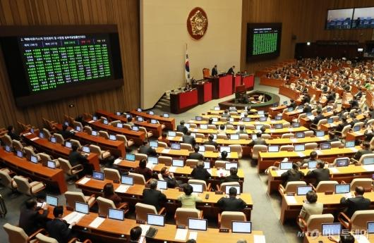 [사진]LPG 규제완화·미세먼지 개정안 국회 통과
