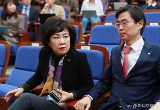 [사진]의원총회 참석한 김순례 자한당 최고위원
