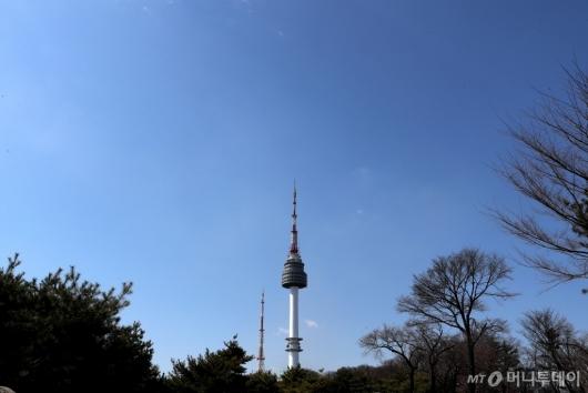 [사진]반가운 파란하늘