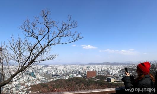 [사진]'간직하고 싶은 파란 하늘'