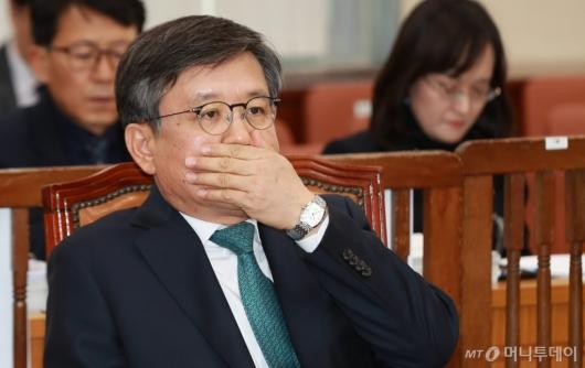 [사진]인사청문회 출석한 김창보 중앙선관위원 후보자
