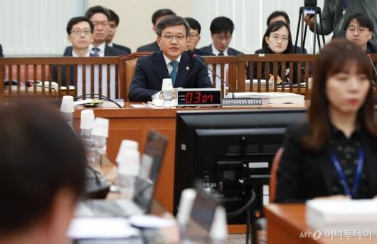 [사진]김창보 중앙선관위원 후보자 인사청문회