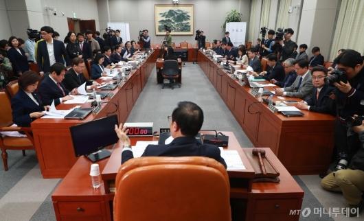 [사진]운영위 전체회의, 예정처장 임명동의안 가결...입조처장 20일 연기