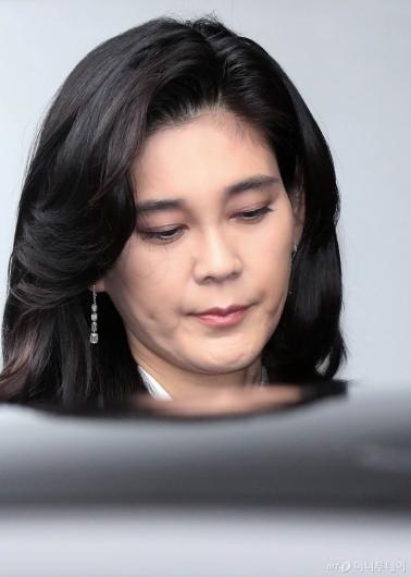 [사진]정기 주주총회 참석하는 이부진 사장