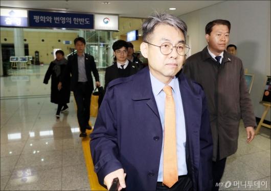 [사진]김창수 부소장, '개성으로 출경'
