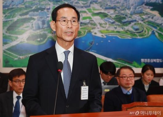 [사진]검증대 선 최정호 국토부장관 후보자
