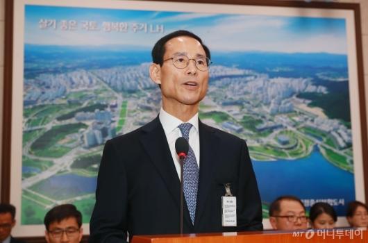 [사진]'부동산 논란' 최정호 국토부 장관 후보자 인사청문회
