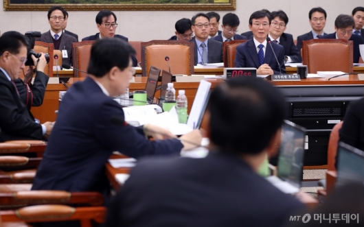 [사진]문성혁 해양수산부 장관 후보자 인사청문회