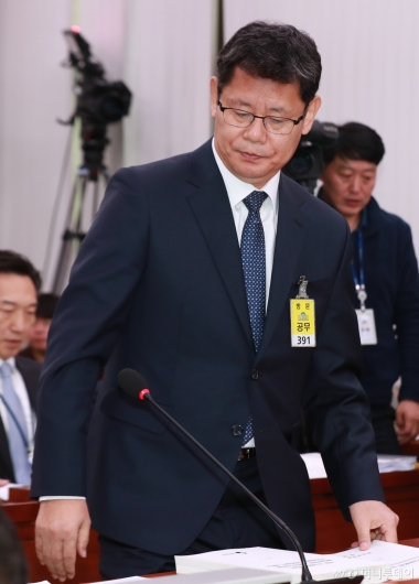 [사진]검증대 오른 김연철 통일부장관 후보자