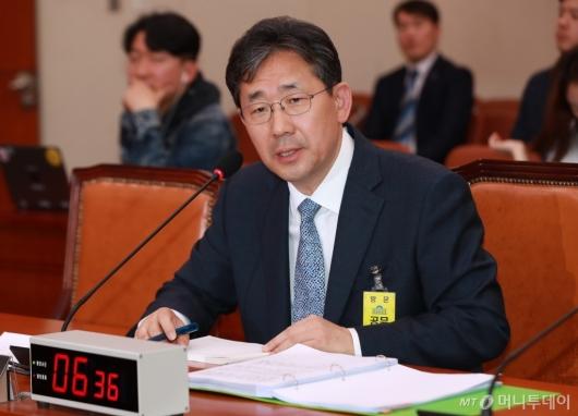 [사진]박양우 문체부장관 후보자 인사청문회