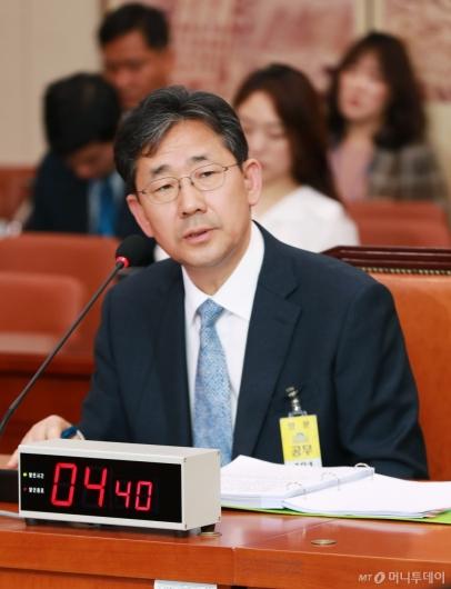 [사진]검증대 오른 박양우 문체부 장관 후보자