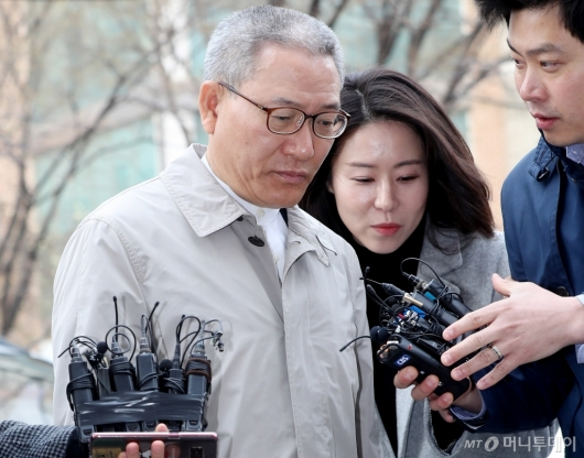 [사진]답변 없는 서유열 전 KT 사장