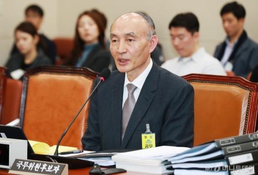 [사진]조동호 과기부 장관 후보자 인사청문회