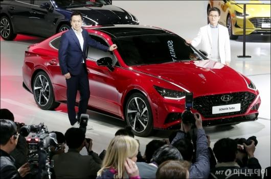 [사진]현대차, '소나타 터보 공개'