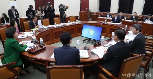 [사진]국회 정보위원회 전체회의