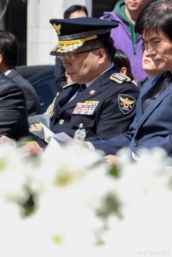 [사진]경찰청장, 제주 4·3 추념식 참석