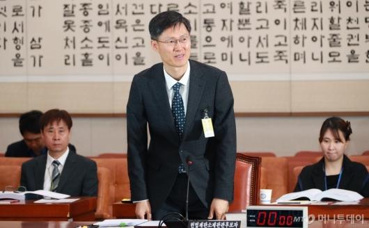 [사진]문형배 헌법재판관 후보자 인사청문회 '출석은 했지만...'