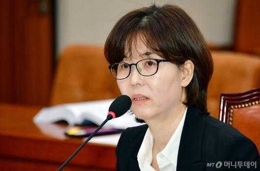 [사진]이미선 헌법재판관 후보자 인사청문회