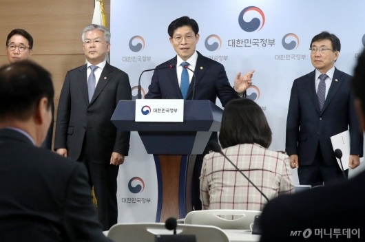 [사진]'생활SOC 3개년 계획' 발표하는 노형욱 국무조정실장