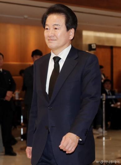[사진]정동영 대표, '故 조양호 회장 빈소 조문'