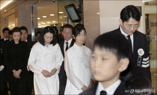 [사진]'故 조양호 회장 영결식'