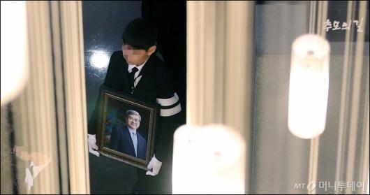 [사진]조양호 한진그룹 회장, '하늘로'