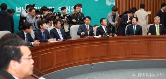 [사진]바른미래당 의원총회 개최...'당의 운명은?'