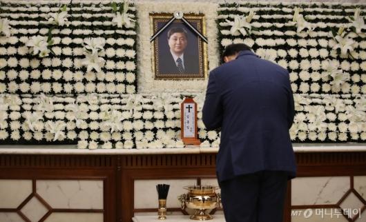 [사진]빈소 마련된 故김홍일 전 의원