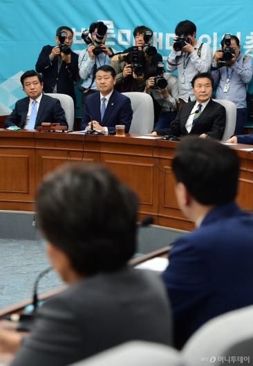 [사진]다시 열린 바른미래당 의원총회