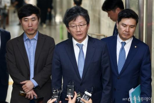 [사진]바른미래당, 신속처리안건 추인...굳은 표정의 유승민