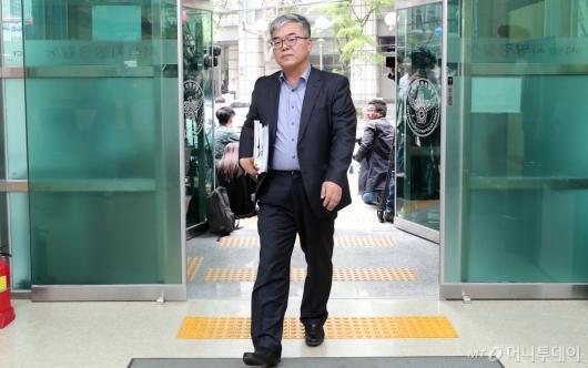 [사진]고소장 접수하는 박훈 변호사