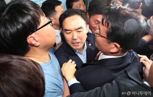 [사진]의원실 '탈출'한 채이배