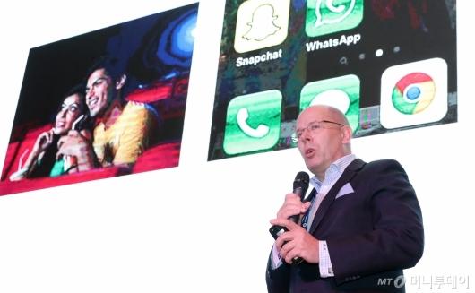 [사진]랄프 모지카토 대표, '스마트 시티에서의 애플리케이션은?'