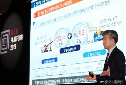 [사진]'신산업 규제혁신의 새로운 패러다임'